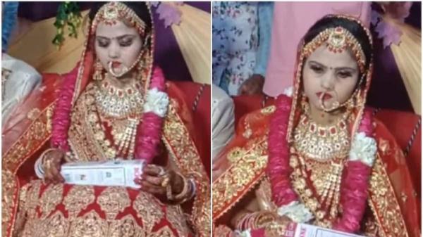 خشم عروس از کادوی عجیب فامیل داماد,واکنش عروس به هدیه داماد در هند