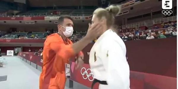 ماجرای سیلی جنجالی در المپیک,سیلی به جودوکار زن در المپیک توکیو