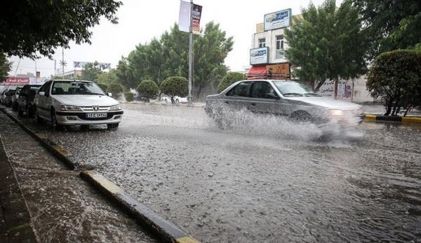 وضعیت آب و هوای کشور,بارش برف و باران در مرداد 1400