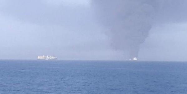 حمله به یک کشتی در دریای عمان,دریای عمان