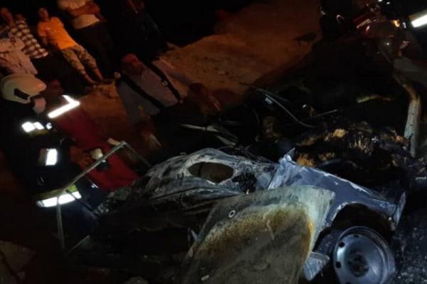 تصادف در اصفهان,تصادف در قلعه شور اصفهان