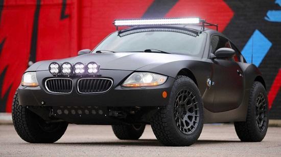 آفرود BMW Z۴,آفرود