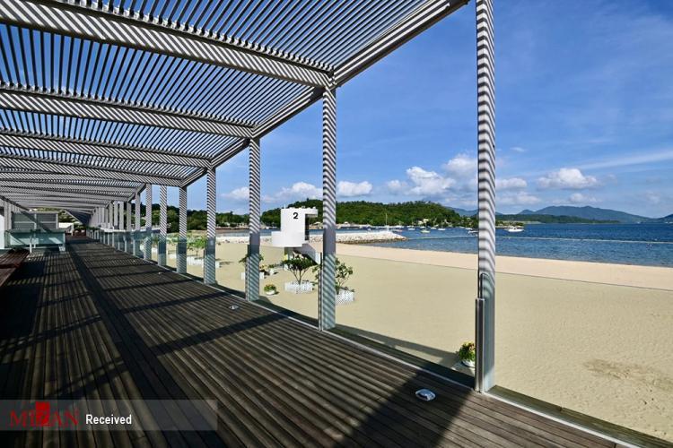 تصاویر افتتاح ساحل مصنوعی هنگ کنگ,عکس های ساحل مصنوعی هنگ کنگ,تصاویر ساحل مصنوعی هنگ کنگ