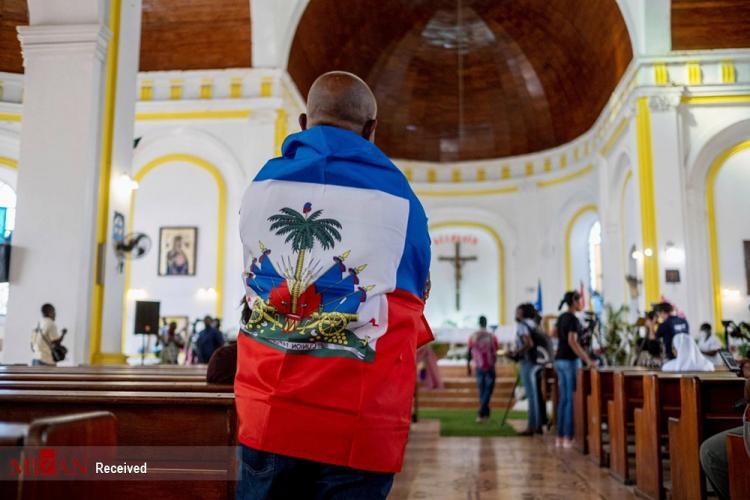 تصاویر مراسم خاکسپاری رئیس جمهور هائیتی,عکس های مراسم یادبود برای رئیس جمهور هائیتی,تصاویر مراسم خاکسپاری جوینل مویز
