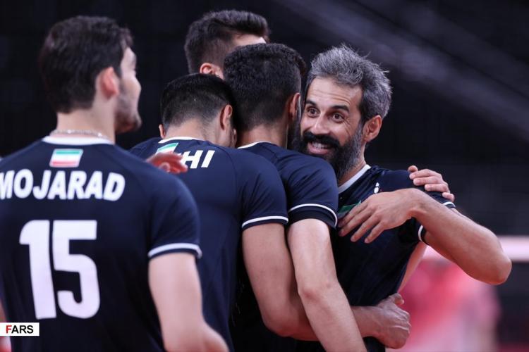 تصاویر دیدار تیم ملی والیبال ایران و لهستان,عکس های دیدار والیبال ایران و لهستان,تصاویر والیبال المپیک 2020