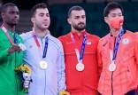 مدال نقره ورزشکار عربستانی,حمدی کاراته کا عربستانی