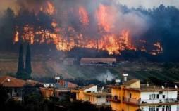 پ.ک.ک,مسئولیت آتشسوزیهای ترکیه