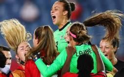 تیم ملی فوتبال بانوان کانادا,کانادا قهرمان فوتبال زنان المپیک 2020
