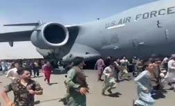 فیلم   یک صحنه عجیب و دردآور دیگر از فرودگاه کابل