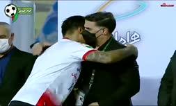 فیلم/ مراسم اهدای جام و جشن قهرمانی فولاد خوزستان در جام حذفی