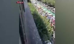 فیلم/ اعتراضات در تهران به دلیل قطعی برق