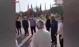فیلم/ تجمع اعتراضی نخلداران در سازمان جهاد کشاورزی خوزستان
