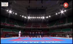 فیلم   پیروزی سجاد گنجزاده برابر حریف ترکیهای و صعود به فینال کاراته المپیک2020