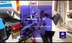 واحدهای مسکونی در خیابانهای مرکزی اصفهان آب ندارند | تصاویر ارسال 300 تانکر آب توسط سپاه اصفهان به خوزستان