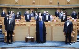 تصاویر آخرین سخنرانی حسن روحانی,عکس های حسن روحانی در مقام رئیس جمهور,تصاویر آخرین سخنرانی حسن روحانی در مقام رئیس جمهور