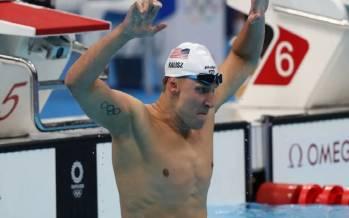 «چیس کالیز», طلای آمریکا در شنا