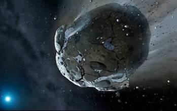 دو ابر جرم قرمز در کمربند سیارکها,سیارک