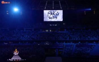 تصاویر مراسم اختتامیه المپیک 2020,عکس های مراسم اختتامیه المپیک,تصاویر مراسم اختتامیه المپیک 2020