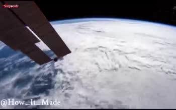 تصویر اعجابانگیز کره زمین ارسالی از ایستگاه فضایی بینالمللی