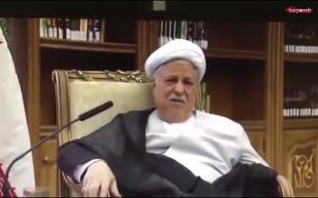 فیلم/ ماجرای اختلافنظر هاشمی رفسنجانی و رهبری دربارهی رابطهی ایران و آمریکا