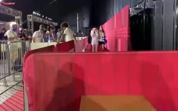 فیلم/ گریه کیمیا علیزاده پس از شکست در مسابقه آخر (المپیک 2020)