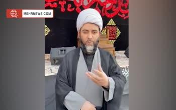 فیلم | رئیس سازمان تبلیغات اسلامی: من فدای تمام امام حسینیهای عالم بشوم