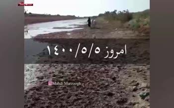 فیلم/ فریاد مرد خوزستانی: چرا با ما این کار را میکنید؟