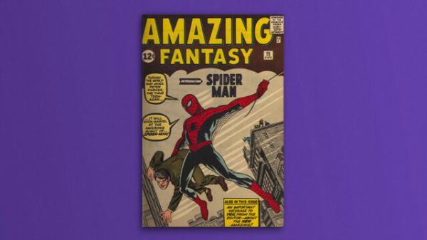 مرد عنکبوتی, کتاب مصورکتاب« فانتزی شگفت انگیز شماره ۱۵»