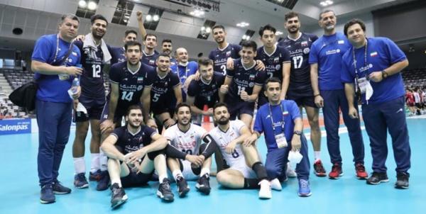مرحله گروهی مسابقات والیبال قهرمانی مردان آسیا,والیبال ایران