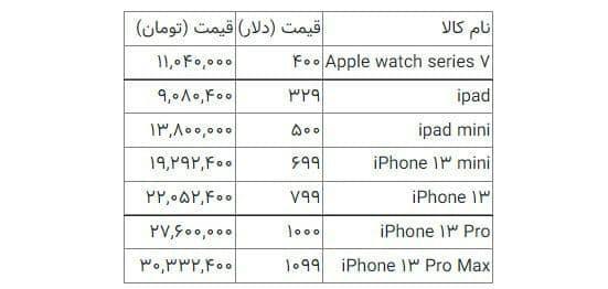 قیمت آیفون ۱۳ در ایران,ویژگی گوشی آیفون 13