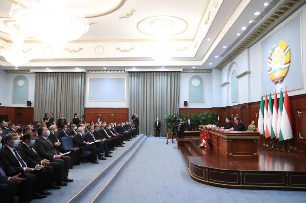 کنفرانس خبری رئیسی و امامعلی رحمان,نظر رئیسی درباره افغانستان و تاجیکستان