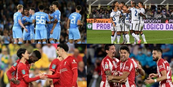 نتایج لیگ های اروپایی,نتایج کامل مسابقات لیگ های اروپایی