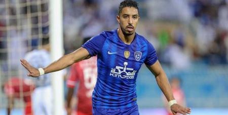 پرسپولیس الهلال عربستان, سالم الدوسری ستاره تیم ملی عربستان