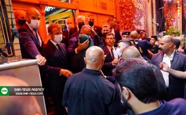 ماکرون به حرمین عسکریین رفت, نشست منطقهای حمایت از عراق