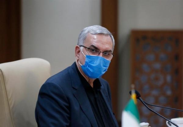 بهرام عین اللهی,وزیر بهداشت