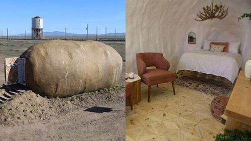 هتل,هتلی شگفتانگیز به شکل سیبزمینی
