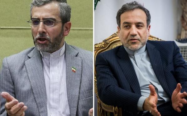 عباس عراقچی و علی باقری,معاون سیاسی وزیر خارجه