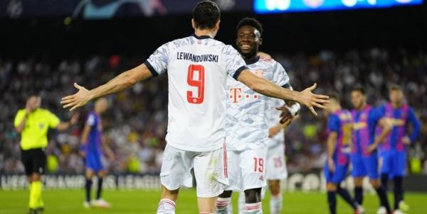 دیدار بایرن مونیخ و بارسلونا,لیگ قهرمانان اروپا 2021