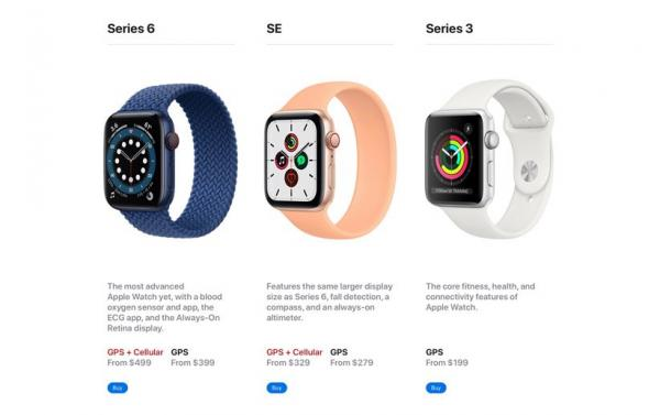 اپل واچ سری 7,نشانههای مبهم از وضعیت اپل واچ سری 7