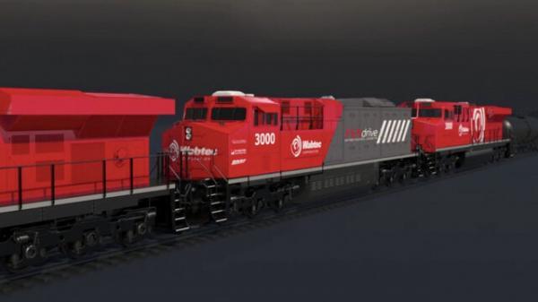 قطار باری برقی جهان,قطار برقی