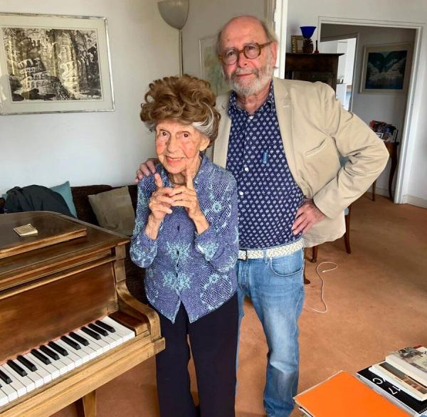 کولئت ماز,آلبوم جدید پیانیست ۱۰۲ ساله فرانسوی