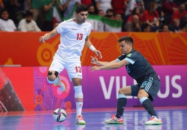 دیدار تیم ملی فوتسال ایران و آرژانتین,جام جهانی فوتسال 2021