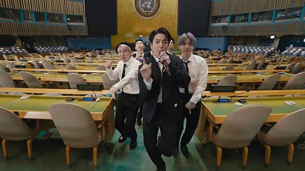 گروه BTS,گروه بی تی اس در سازمان ملل