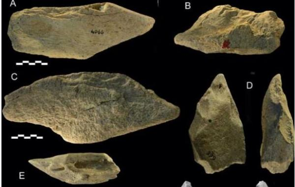 کشف ابزارهای چندصدهزارساله در ایتالیا, آثار تاریخی در ایتالیا