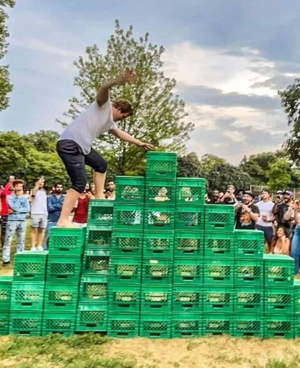 چالش جعبه شیر,تیک تاک