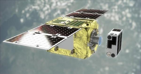 زباله فضایی,فضاپیمای آهن ربایی
