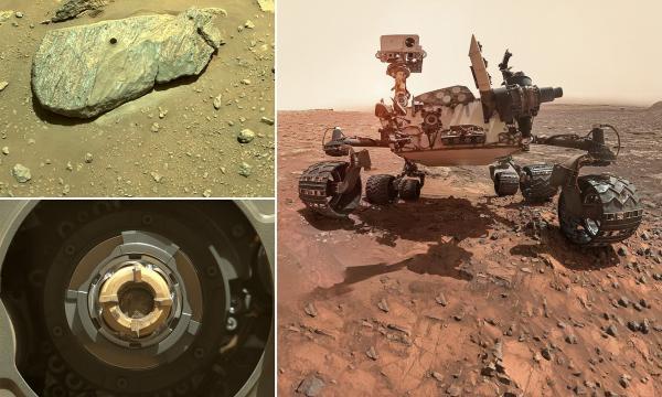 مریخ نورد استقامت,مریخ