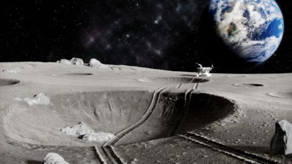 معدن کاوی ماه ,ربات های خودران