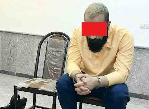 حمیدصفت,قتل پدر توسط حمید صفت