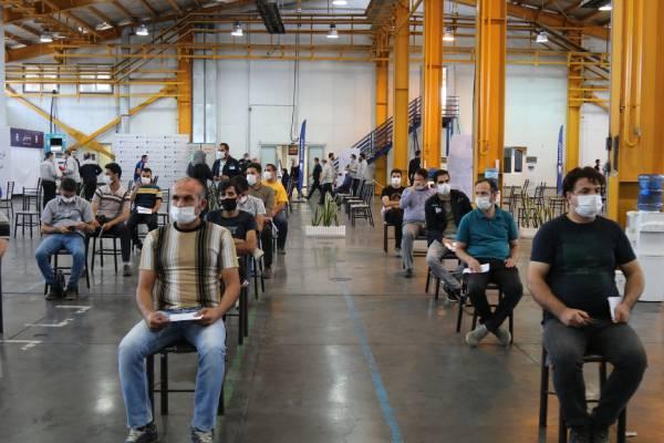 واکسن کرونا,واکسیناسیون سراسری کارکنان شرکتهای منطقه صنعتی